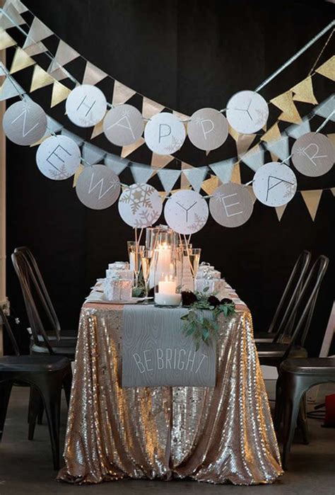 Decorating Ideas New Years by New Year S Decorating Ideas Pretty Designs
