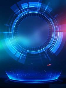 modern business technology blue background design in 2020