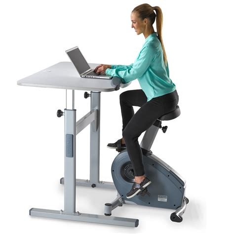 new lifespan stationary bicycle desk combo of1701