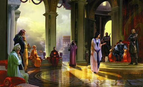 archmages council wallpaper  background image