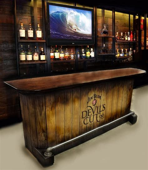Custom Built Home Bars by Home Bar Custom Built Rustic Whiskey Pub Cave Barn