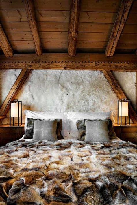deco chambre chalet chambre a coucher de luxe