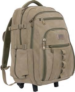 Rolling Travel Backpack