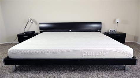 purple bed california king size mattress review