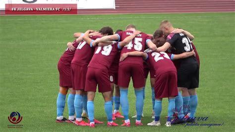 Futbols: Jelgava-Valmiera - YouTube
