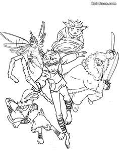 7 Best Coloring Pages (Rise Of The Guardians) images in
