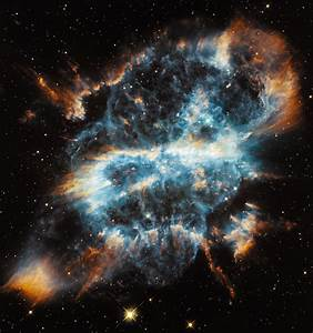 Hubble photo: A dying star's colorful demise