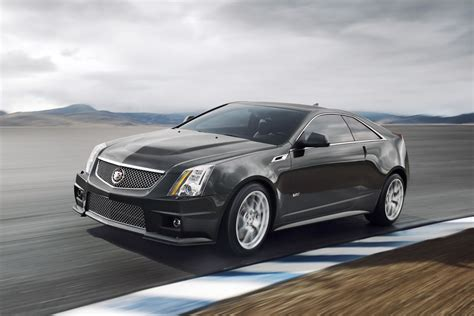 2018 Cadillac Cts V Coupe Front Photo Race Track