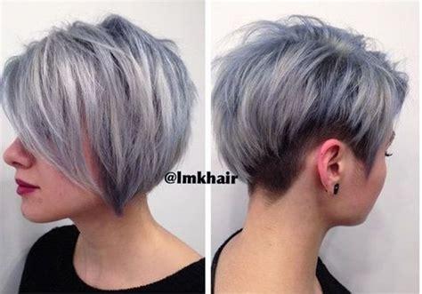 grau ist die trendfarbe   lockige frisuren