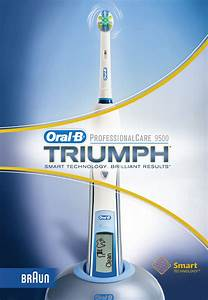 Braun Electric Toothbrush 9500 User Guide