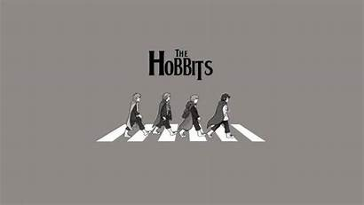 Lord Rings Beatles Road Funny Abbey Minimalism