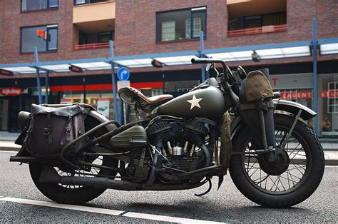 Ww2 Military Motorcycle