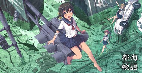 Anime, Barefoot, Manga, School Uniform