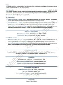 professional accounting resume australia financial resume template resume builder