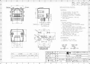Single Port Rj45 Modular Jack 8p8c Router Jack Rj45