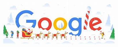 Google Happy Holidays Northern Doodle