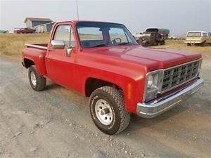 1980 Chevrolet K10 4x4 Step Side Short Bed Chevy Shortbox
