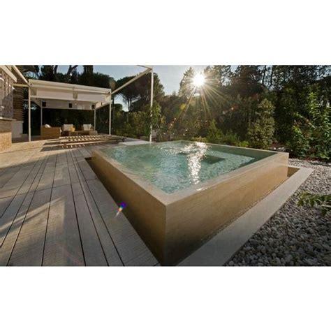 une piscine en b 233 ton hors sol une installation solide pour votre piscine