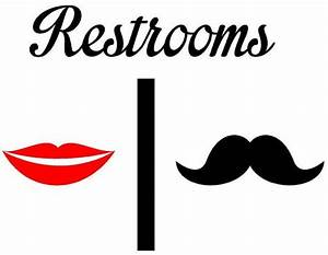 cool men and women bathroom sign with men and women With cool bathroom signs