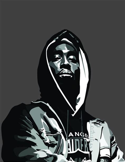 Tupac Portait Vector Based By Cassodinero On Deviantart