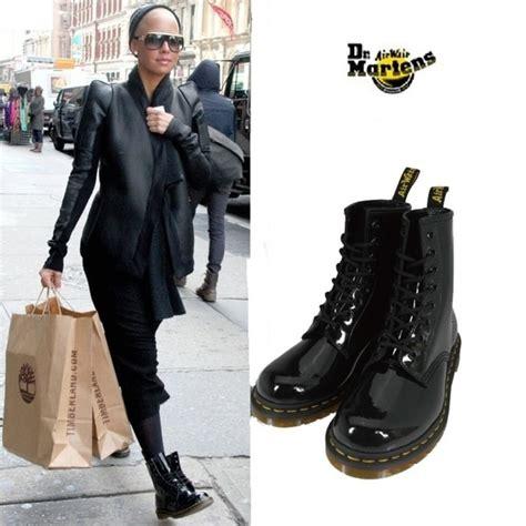 Martens Shoes Black Patent Lamper