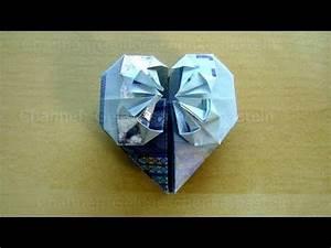 Herz Falten Origami : die besten 25 herz aus geldschein falten ideen auf pinterest klappen hochzeit origami herzen ~ Eleganceandgraceweddings.com Haus und Dekorationen