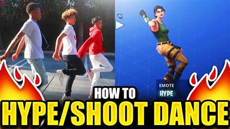 hype dance tutorial fortnite dance tutorial
