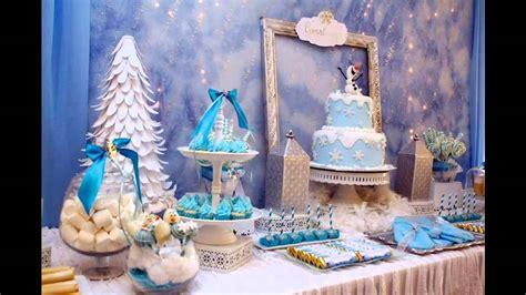 creative winter wonderland birthday party youtube