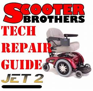 Service Guide For Jazzy Jet 2 Technical Repair Manual With