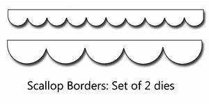 9 Best Images of Printable Template For Scalloped Border ...
