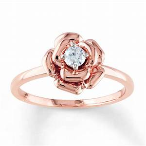 top 14 rose gold engagement ring designs mostbeautifulthings With rose wedding ring