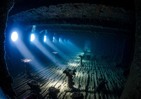 nadya kulagina sea underwater deep sea wreck ship