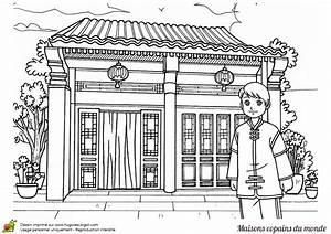 Maison Japonaise Dessin : coloriage maison les beaux dessins de autres imprimer et colorier ~ Melissatoandfro.com Idées de Décoration