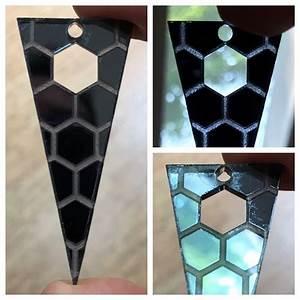 Mirrored Acrylic Pendant - Beyond The Manual
