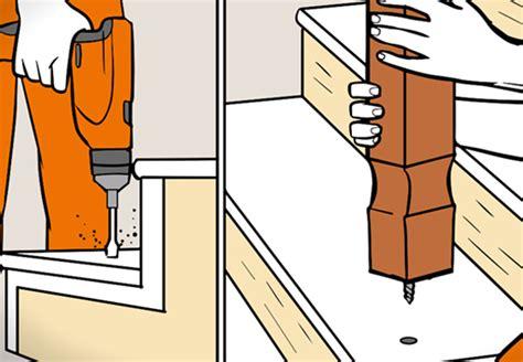 treppengeländer holz selber bauen treppengel 228 nder selber bauen in 5 schritten obi