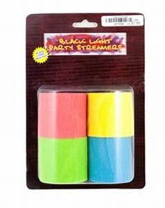 Black light party streamers available at Spencer s