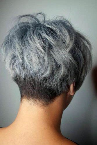 33 Short Grey Hair Cuts And Styles
