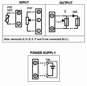 Thermistor Converter  Potentiometer Converter  Dat4531c