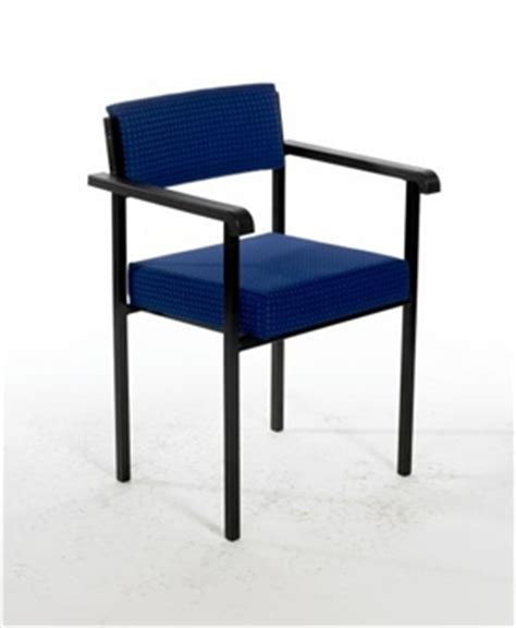 acm stacking vinyl reception side chair with arms