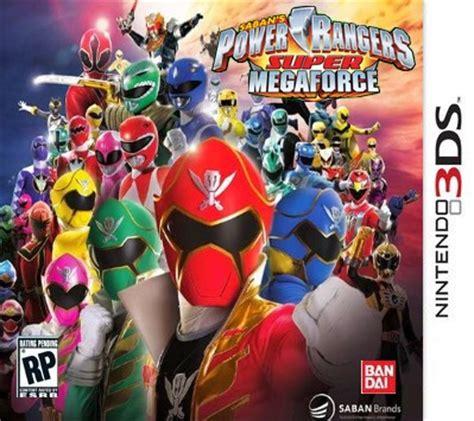jeu ds ranger 3ds megaforce power rangers r 233 unification