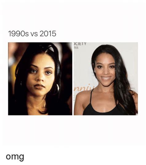 Omg Girl Meme - 1990s vs 2015 ciety tes omg omg meme on sizzle