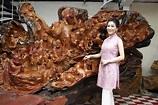 名媛胡寶莉投資千年神木!從鐵板燒到木雕藝品,與「他」攜手開創新人生