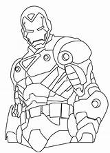 Coloring Iron Pages Ironman Printable Sheets Sheet Marvel Avengers Collections Superhero Hero Super sketch template