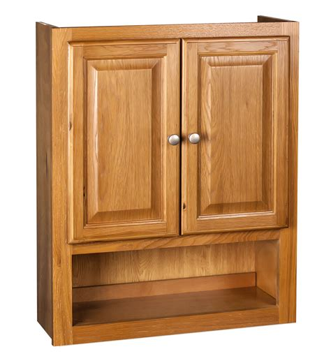 bathroom wall cabinet  oak  ebay