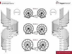 Technische Zeichnung Programm Kostenlos : spindeltreppe valencia durchmesser 200 cm wendeltreppe ~ Watch28wear.com Haus und Dekorationen