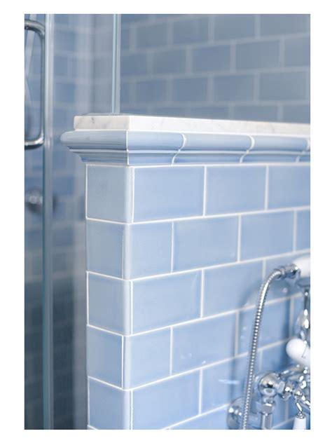 vermeere ceramic tile shower knee wall detail