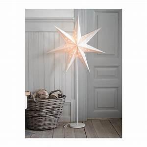Stehlampe Led Ikea : ikea standleuchte strala weihnachtsstern lampe 120cm hoch weiss neu ebay ~ Orissabook.com Haus und Dekorationen