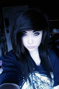 Emo Girl With Black Hair Google Search Stuffs