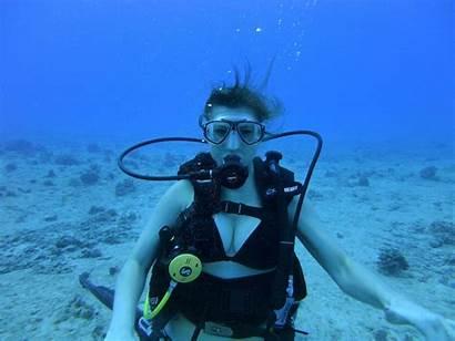 Scuba Diving Hawaii Snorkeling Underwater Asian Asia