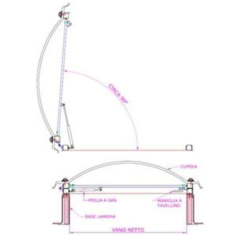 lucernario cupola lucernario completo di basamento in acciaio zincato e